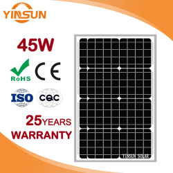 Factory Direct Sale 45W Solar Module for Solar Panel System