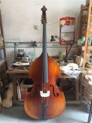 Solidwood Maple Double Bass Hand Made in China