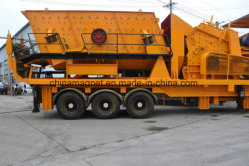 Mobile Aggregate Crushing Plant/Mini Mobile Crusher for Aggregate/Limestone/Granite/Black Stone Crushing Plant