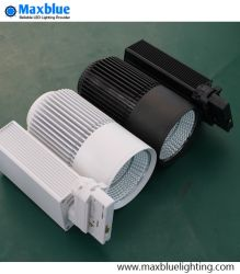 Ce, RoHS, SAA, ETL High Quality White & Black LED Down Track Light for Shop/Store/Mall/Art Gallery