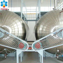 Crude Oil Refining Deacidification Degumming Bleaching Deodorization Dewaxing Equipment