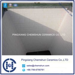 Wear Resistant Alumina Ceramic Lined Bunker & Hopper