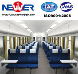 Railway Passenger Coach with Frame Bogies