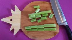 Pineapple Shape Bamboo Cutting Board