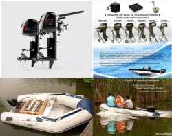 Golden Motor New Electric Outboard Motor/Electric Propulsion 3HP 6HP 10HP 15HP 20HP