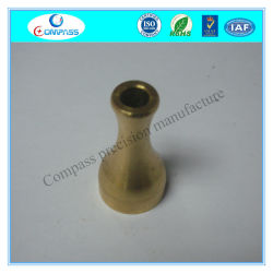 CNC Lathe Turning Part Brass Customized E-Cigarette Round Drip Tip
