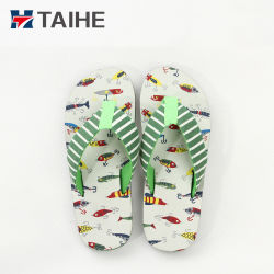 e970dc6ee03340 Comfortable Children Fabric Strap Fancy EVA Slippers Kids Wholesale Flip  Flops