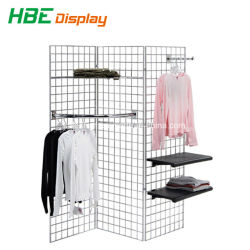 Customize Store Fixture Wire Grid Organizer Cube