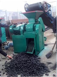 Pillow Ball Sqaure Oval Shap Coal and Charcoal Press Machine