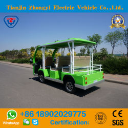 Customized Colour 8 Seatsbattery Powered Classic Shuttle Electric Sightseeing Tourist Cart for Wholesale