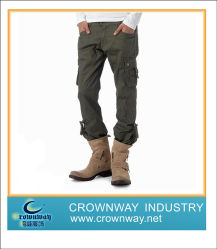 Mens Cotton Casual Sport Cargo Pants with High Quality (CW-MCP-1)