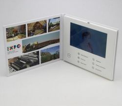 7 Inch TFT LCD Screen Video Greeting Card