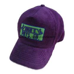 a62a87b18ca Cotton Corduroy Felt Letter Patch Embroidery Trucker Hat