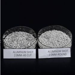 99% Purity Aluminum Shot, Aluminum Cut Wire Shot, Aluminum Grain