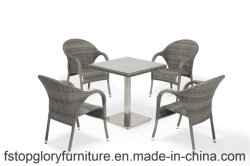 Hot Sale Outdoor Garden Swimming Pool Dining Room Furniture Table Set
