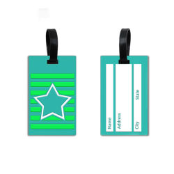 Clear Bulk Paper Hang Nylon Name Plastic 3D Custom Airplane Baggage Soft Rubber PVC Luggage Tag