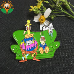 Wholesale Good Quality Metal Craft Soft Badge Antique Emblem Custom Lapel Pin (XDBGS-317)