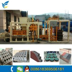 Qt4-25 Full Automatic Stone Paver Brick Machine/Houdis Block Making Machine
