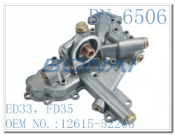 Nissan Aluminium Engine Oil Cooler Cover ED33, Fd35 (OEM NO.: 12615-52206)