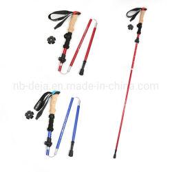 Telescopic Folding Sticks Straight Handle Stick Climbing Gear
