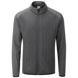 Hy8026 Men's Outdoor Sport Ultrasonic Quilting Golf Latitude Jacket