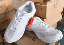 Stock Sport Shoes with Cheap Price, White School Shoes, Running Shoes, Athletic Shoes, Children Sport Shoes Wholesales