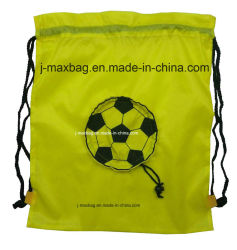Foldable Draw String Bag, Football, Lightweight, Convenient and Handy, Leisure, Sports, Promotion, Accessories & Decoration