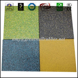 Non-Slip Waterproof Fitness Gym Playground Safety Rubber Floor Mat Tile