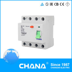 Electro-Magnetic Type ELCB RCCB with TUV Certification