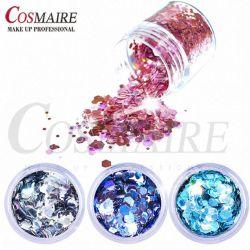 Manufacture Cosmetic Glitter Flake Randon Cut Flake for Nail Polish