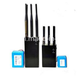 Apollo jammer - GPS Lojack portable 6 band signal jammer mobile signal blocker,Portable 2G/3G/4G Jammer