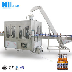 Complete Line Automatic Pet Bottle Non-Carbonated Mineral Water Clear Juice Hot Filled Sport Drinks Sauce Beer Making Filling Bottling Capping Packing Machine