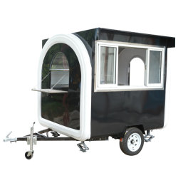 Smart Hotdog Ice Cream Customized Mobile Vendor Food Cart Design Philippines With Shipping By Sea Traveling Kitchen Appliances Food Processors
