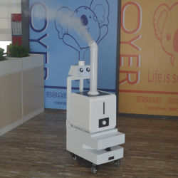Hospital Public Automatic Artificial Intelligent Sterilization Device Spraying Indoor Disinfection Machine Robot