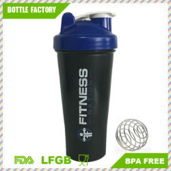 Wholesale 600ml Protein Shaker with Ball Blender