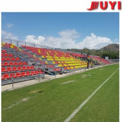 Steel Demountable Seating Solution with Plastic Seats for Outdoor Use Factory Price Outdoor Grandstand Aluminium Bleacher Sport Bench Seating Plastic Seat Gym