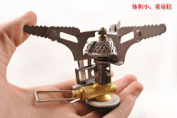Military Tactical Camping Travel Sports Wind-Proof Burner Stainless Steel Stove