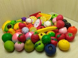 PU Foam Soft Squishies Slow Rising Fruits Toys