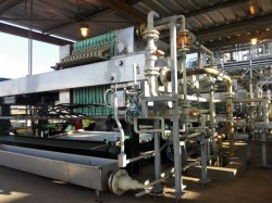 Program Controlled Auto1600 PP Membrane Filter Press with Auxiliary Equipments