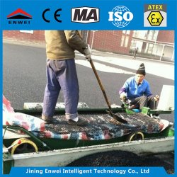 Tpj-2.5 Rubber Paver Spreading Machine for School Sport Place