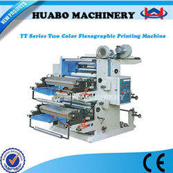 High-Speed Automatical 2 Color Printing Printer Machine