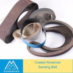 China Factory Bjn31s Aluminum Oxide Soft Flexible Abrsive Sanding Belt