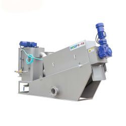 Ce/ISO/SGS Sewage Wastewater Water Treatment Screw Press Dewatering Sludge Filter System