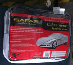 Cobertor PARA Auto/Luque Lucrecia Felipa Car Cover Supplier Safari Racing (BT 6004)