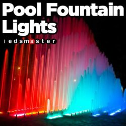 Submersible Water Fountain Lights 360W Color Changing