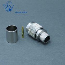 Male Plug Crimp RP TNC Connector for LMR400 Cable