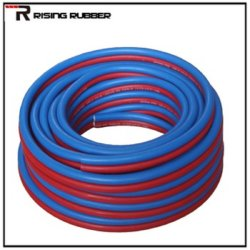 Flexible Textile Braided Twin Welding Rubber Tube