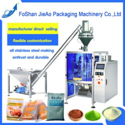Vertical Automatic Powder Packing Machine for Cocoa/Curry/Coffee/Flour (JA-720)