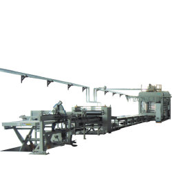 Composite Laminated Wood Floor Hot Press Complete Automation Production Line
