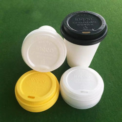 2019 New Biodegradable 60mm 70mm 80mm 90mm 115mm C PLA Coffee Cup Lid/Bowl Cover Manufacturer